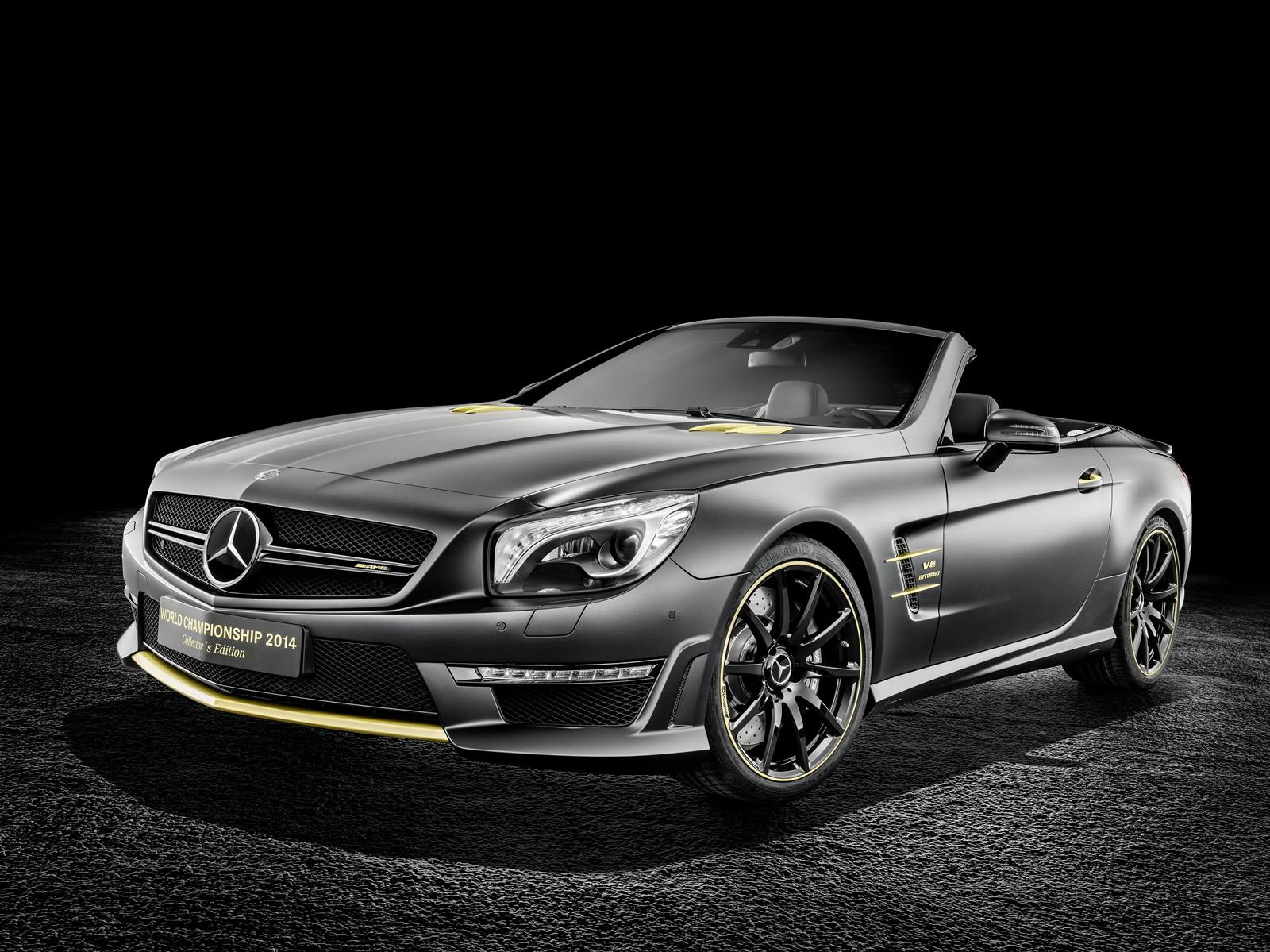 мерседес-бенц sl 63 amg world championship