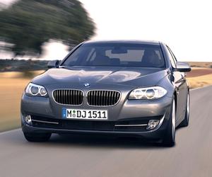 BMW 5 series на ММАС 2010
