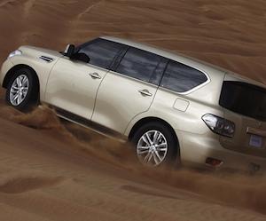 Nissan Patrol на ММАС 2010