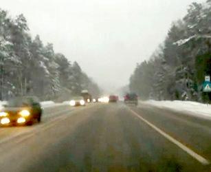 Авария Nissan Navara 24.02.2012