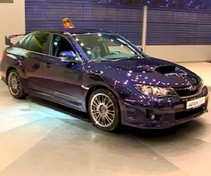 Subaru WRX STI на ММАС 2010