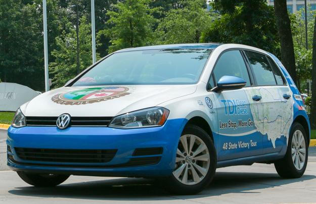 Дизельный VW Golf признали самым экономичным