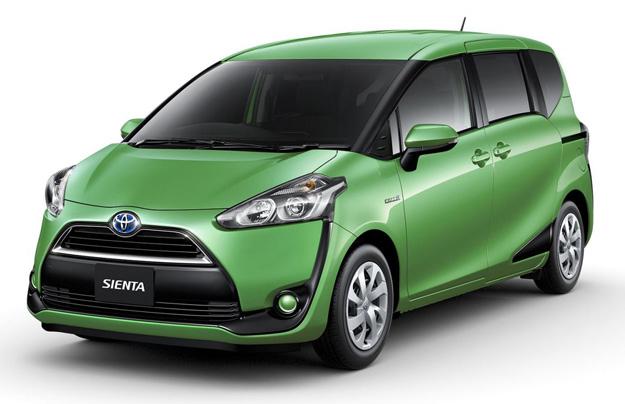 Toyota показала новый компактвэн Sienta